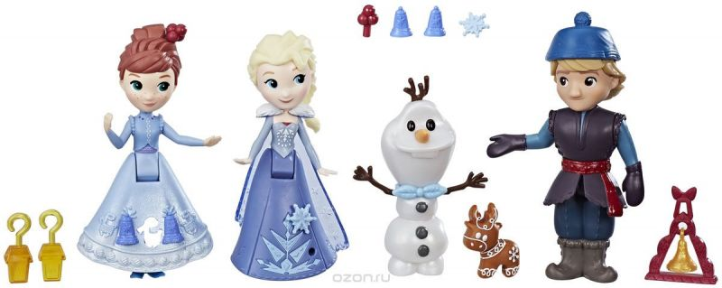 Disney Frozen Набор мини-кукол Arendelle Traditions Collection