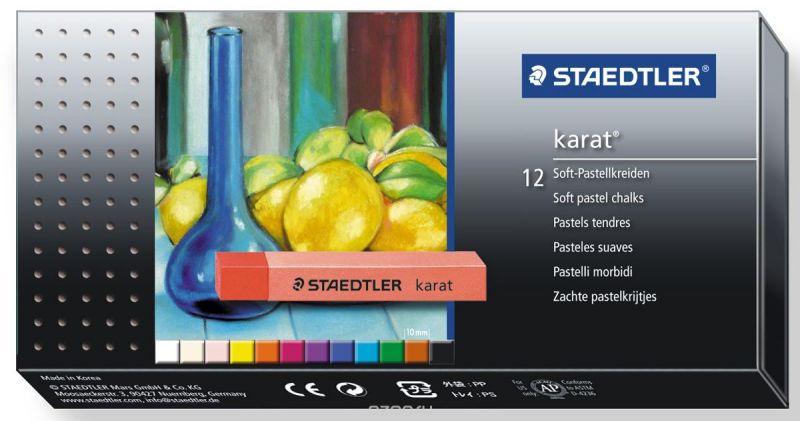 Staedtler Мелки пастельные мягкие Karat 12 цветов