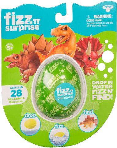 Moose Набор для опытов и экспериментов FIZZ N Surprise Шипучее яйцо Динозавры
