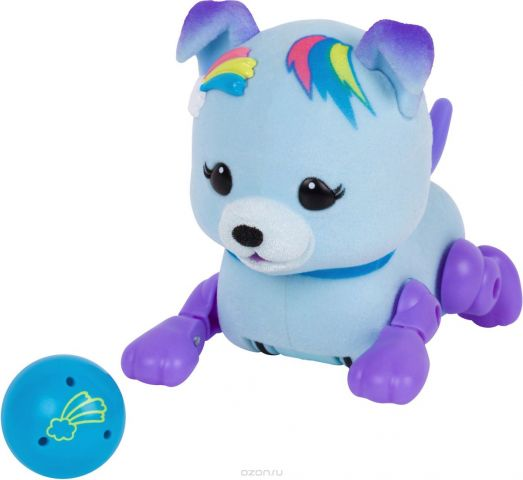 Moose Интерактивная игрушка Little Live Pets Щенок Звездочка с мячиком