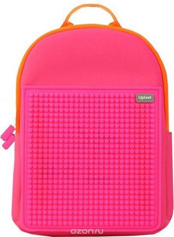 Upixel Детский рюкзак Rainbow Island цвет фуксия