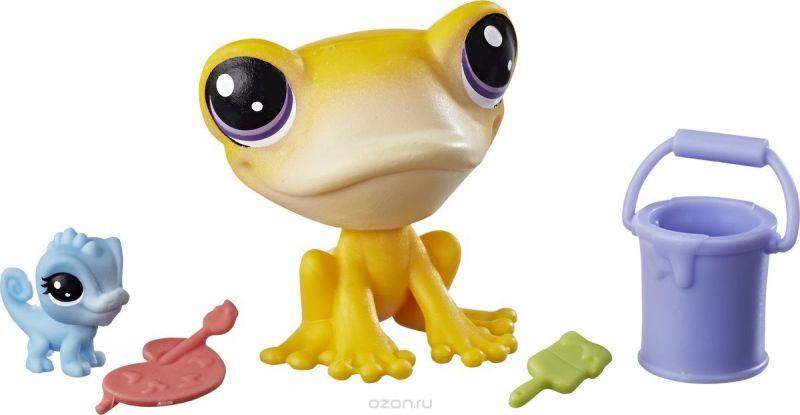 Littlest Pet Shop Набор фигурок Iggy Frogstein & Mitzi McLizard