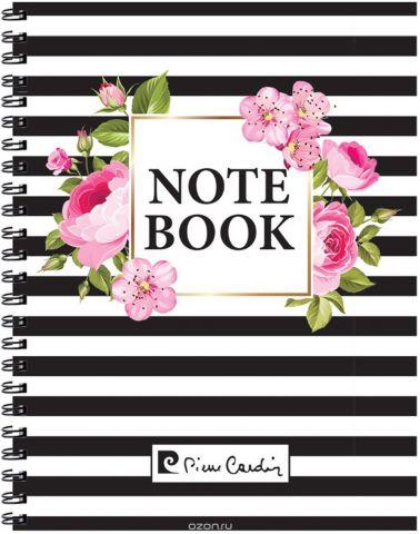 Pierre Cardin Тетрадь Vein 120 листов цвет белый розовый черный формат A4