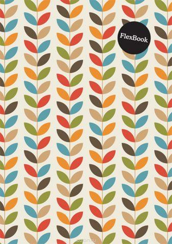 Expert Complete Тетрадь Flora 80 листов в клетку цвет оранжевый формат A4