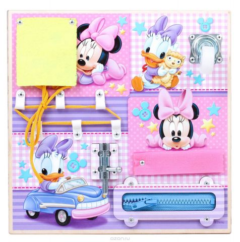 Disney Бизиборд Развиваемся вместе Минни Маус