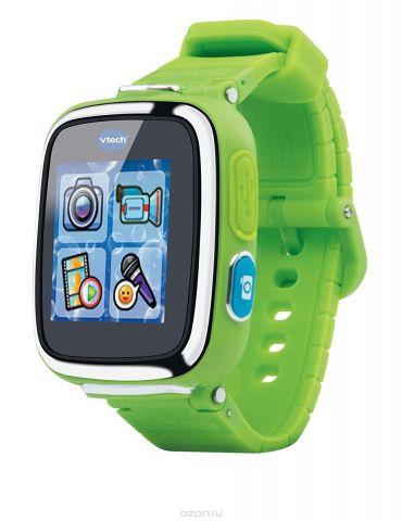 Vtech Детские наручные часы Kidizoom SmartWatch DX цвет зеленый