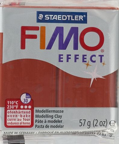 """Полимерная глина Fimo """"Effect Metallic"""", цвет: медь, 57 г"""