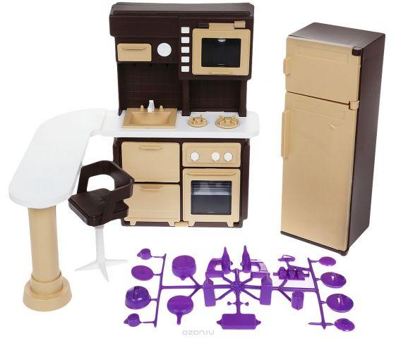 Огонек Набор мебели для кукол Коллекция Кухня