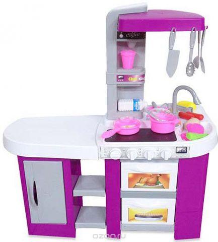 ABtoys Игровой набор Кухня Помогаю маме 49 предмета