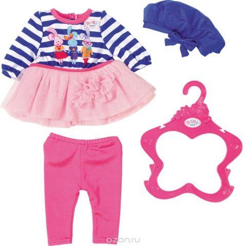 Zapf Creation Одежда для куклы BABY born В погоне за модой