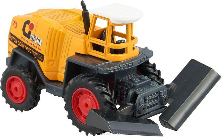 Pioneer Toys Машинка Строительная техника цвет трактора желтый