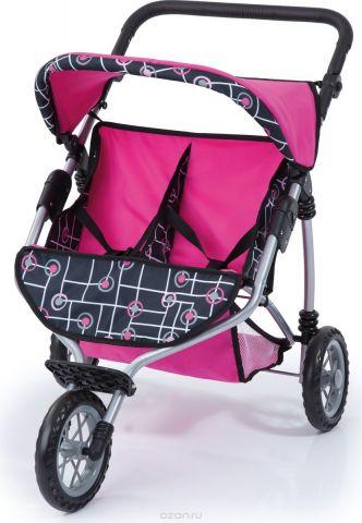 Bayer Транспорт для кукол Прогулочная коляска для двух игрушек 33991АА
