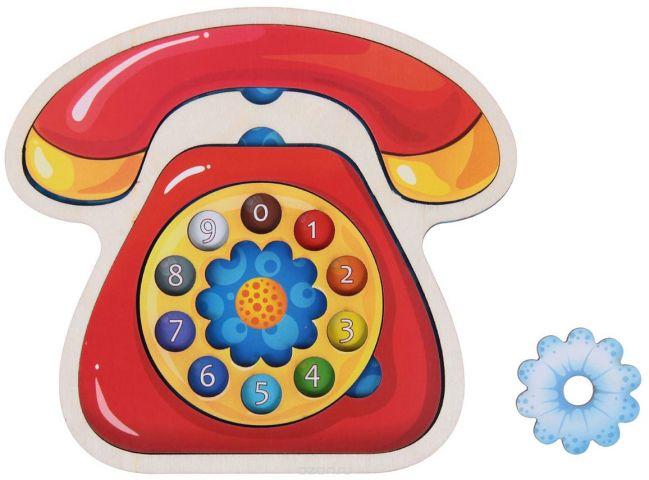 Smile Decor Обучающая игра Рамка-вкладыш Телефон