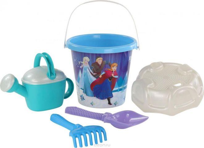 Disney Набор игрушек для песочницы Холодное сердце №15 5 предметов