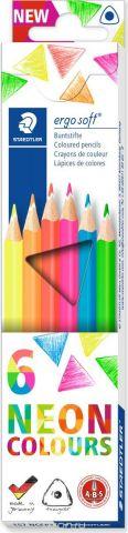 Staedtler Набор цветных карандашей Ergosoft 6 шт