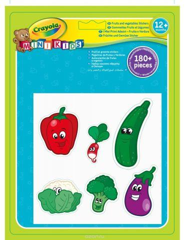 Crayola Набор наклеек Фрукты и Овощи