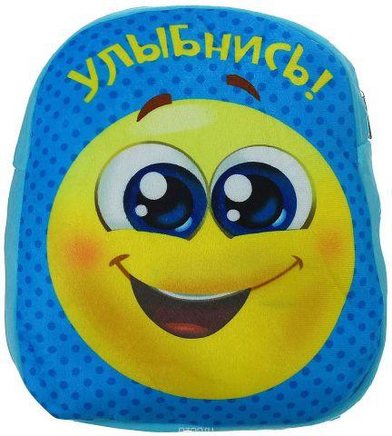 Страна Карнавалия Рюкзак дошкольный Улыбнись цвет голубой 1427055