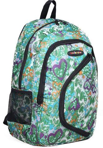 Рюкзак детский Сердца цвет зеленый 1661100