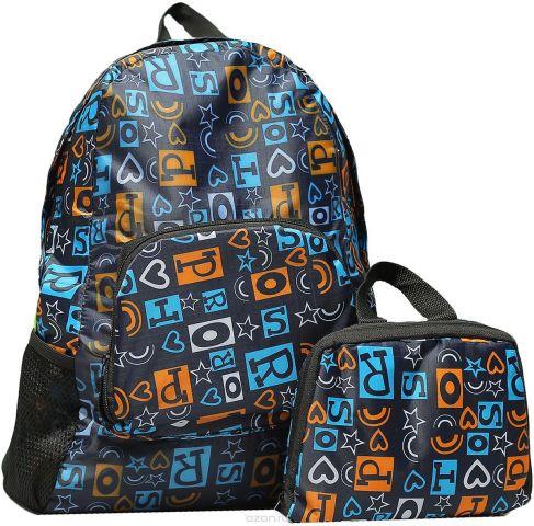 Рюкзак детский Буквы цвет синий 2826147
