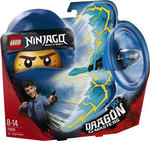 LEGO Ninjago Конструктор Джей — Мастер дракона 70646