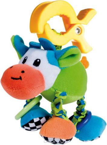Canpol Babies Игрушка подвесная мягкая с вибрацией Корова
