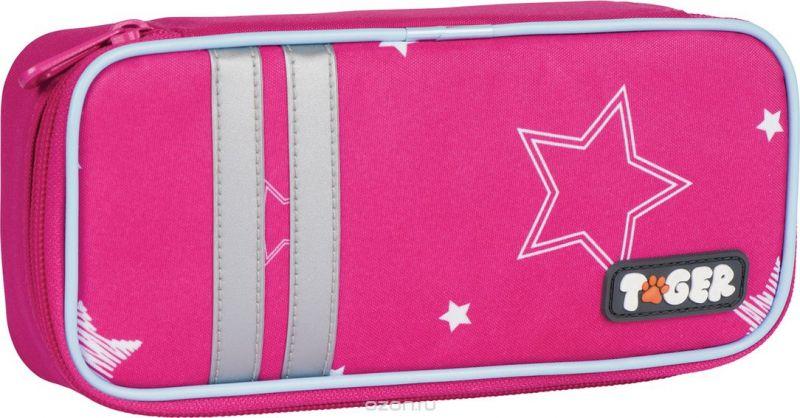 Tiger Family Пенал Twinkle Stars цвет розовый 227008