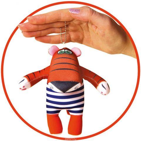 Штучки, к которым тянутся ручки Антистрессовая игрушка-брелок Тигр