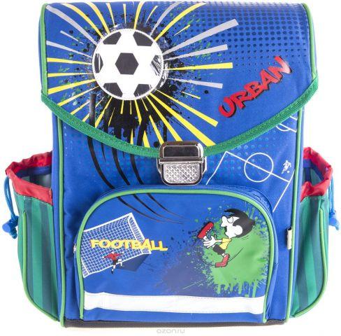 Gulliver Ранец школьный Футбол цвет синий