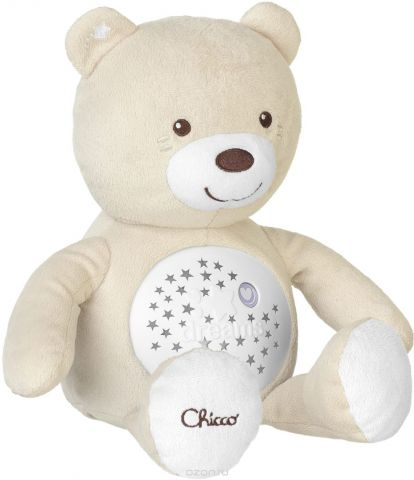 Chicco Развивающая игрушка Мишка цвет бежевый