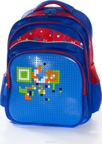 Vittorio Richi Рюкзак детский с наполнением цвет синий красный FL06K07R166904