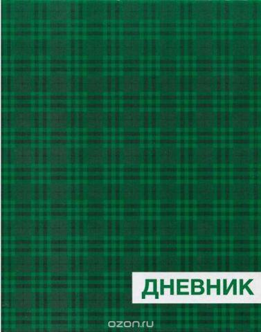 Бриз Дневник школьный Зеленая клетка