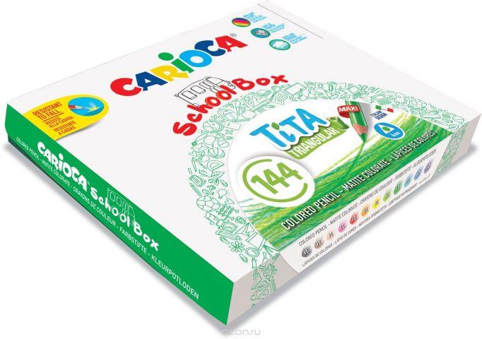 Carioca Набор цветных карандашей Tita 12 цветов 144 шт