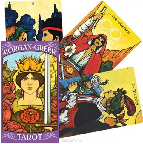 Карты Таро U.S. Games Systems Morgan Greer Tarot