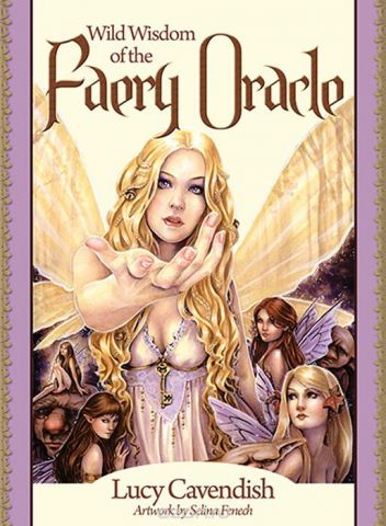 Карты Оракул Blue Angel Oracle cards Wild Wisdom of the Faery