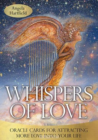 Карты Оракул Blue Angel Cards Whispers of love