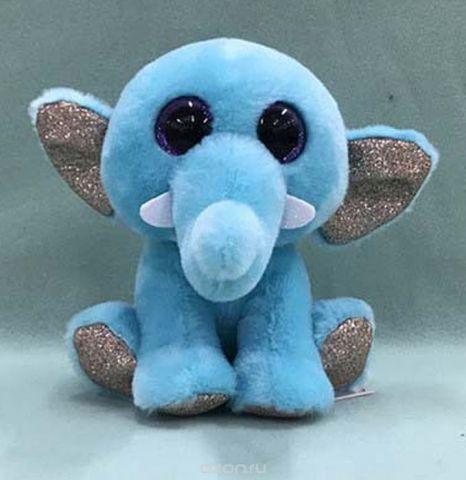 """Игрушка мягкая Teddy """"Слон"""", 14 см"""