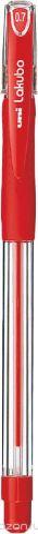 Набор ручек шариковых Uni, Lakubo SG-100, цвет чернил: красный, 0,7 мм. 12 шт