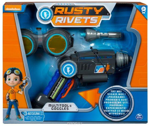 """Игровой набор Rusty Rivets """"Супер инструмент и очки Расти"""""""