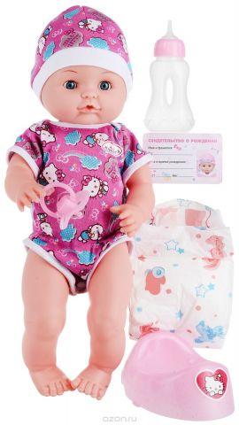 "Пупс Карапуз ""Hello Kitty"", цвет: розовый, синий"