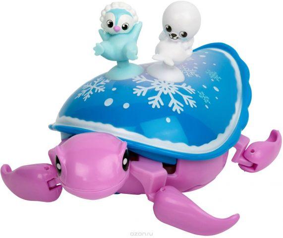 """Интерактивная игрушка Little Live Pets """"Черепашка и друзья. Снежный бриз"""""""