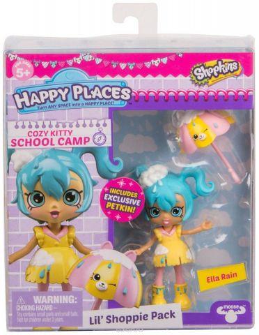 """Игровой набор с куклой Happy Places """"Элла Дождик"""""""