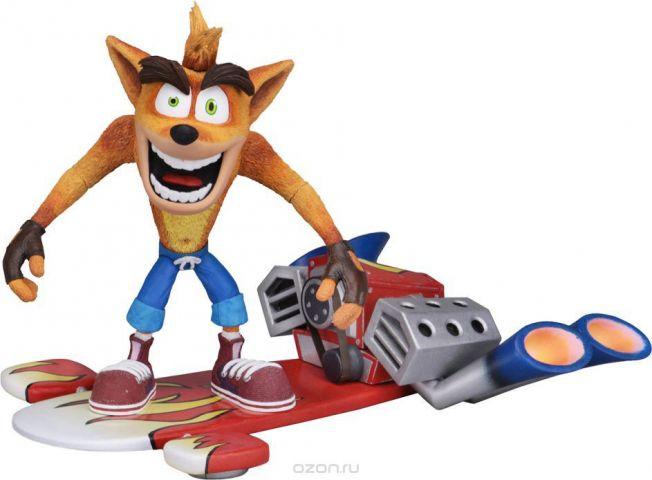 Фигурка Neca Crash Bandicoot Deluxe Crash with Hoverboard, 1CSC20003765