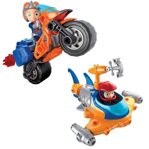 Rusty Rivets 28104 Построй машину героя