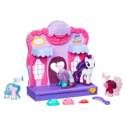 Hasbro My Little Pony B8811 Май Литл Пони Бутик Рарити в Кантерлоте