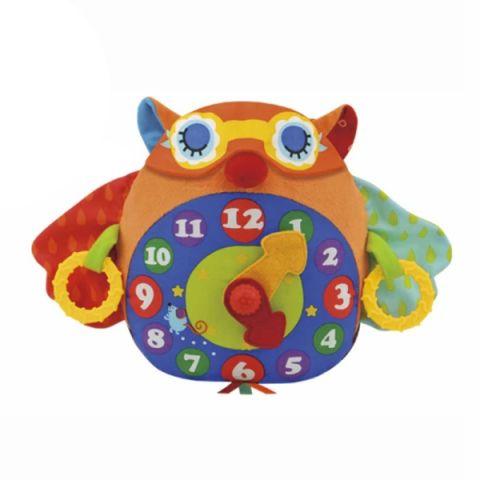 """K'S Kids KA662 Развивающая игрушка """"Часы-Сова"""""""