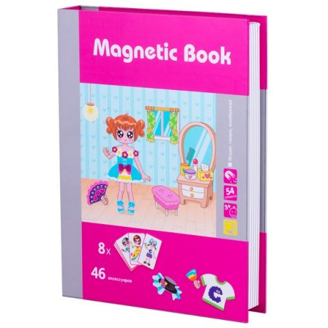 "Magnetic Book TAV036 Развивающая игра ""Модница"""