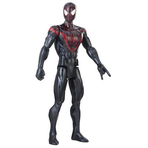 Hasbro Spider-Man E2324/E2346 Фигурка Человека Паука Pow.pack Майлз Моралес 30 см