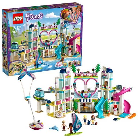 LEGO Friends 41347 Конструктор ЛЕГО Подружки Курорт Хартлейк-Сити