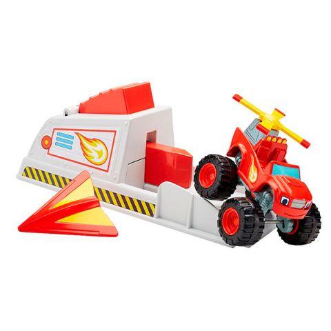 Mattel Blaze CGK15 Вспыш и чудо-машинки: Вспыш и пусковое устройство