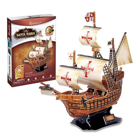 Cubic Fun T4008h Кубик фан Корабль Санта Мария